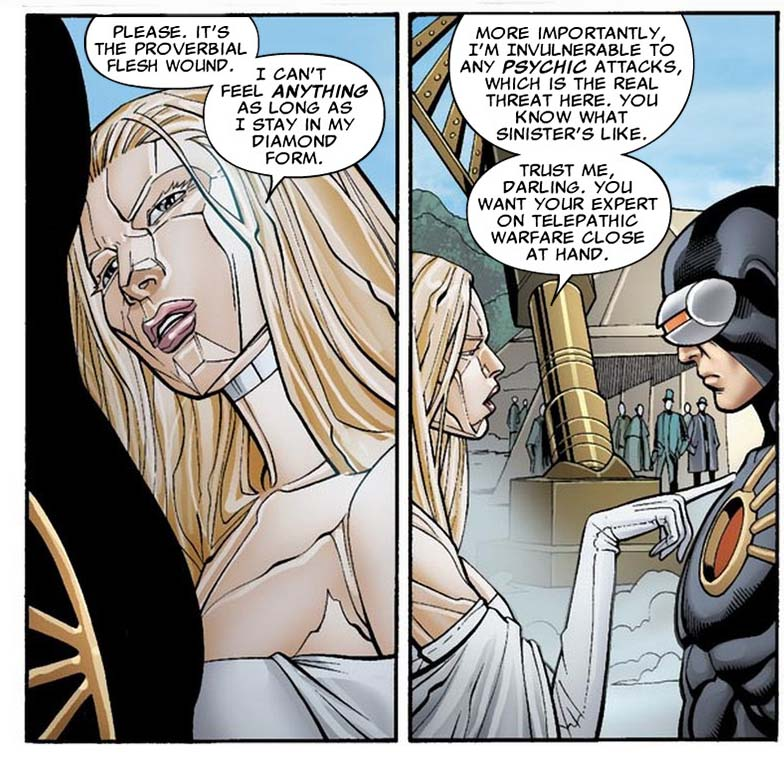 Emma Frost's Secondary Mutation | Comicnewbies