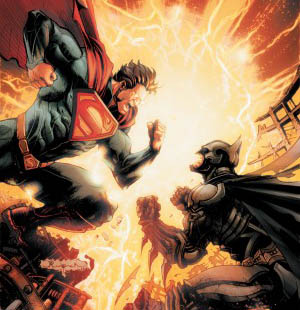 injustice superman vs batman