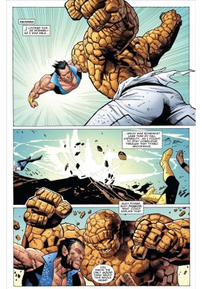 namor vs the thing 2