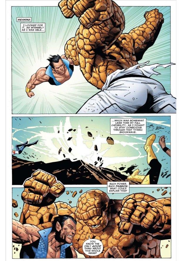 namor vs the thing 2