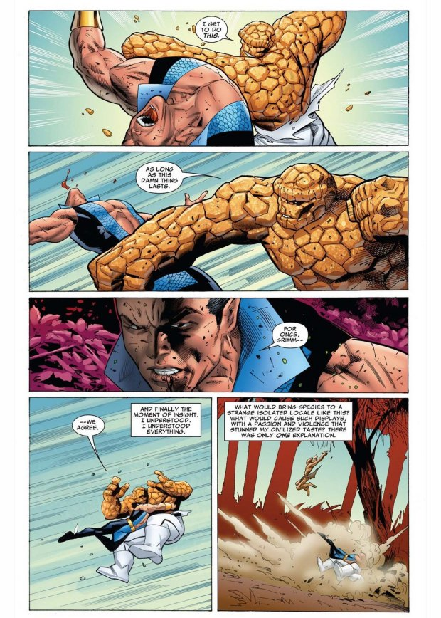 namor vs the thing 3