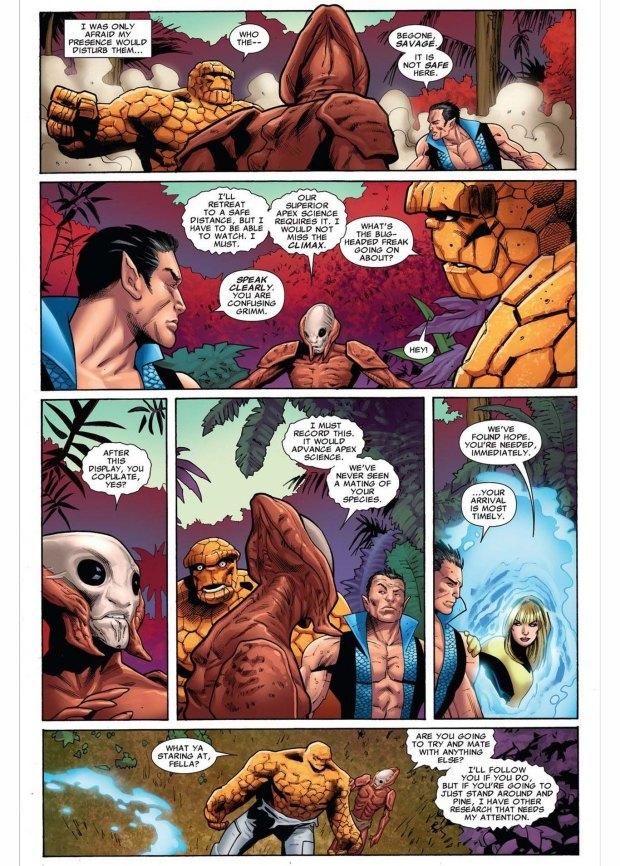 namor vs the thing 4