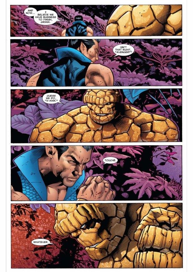 namor vs the thing