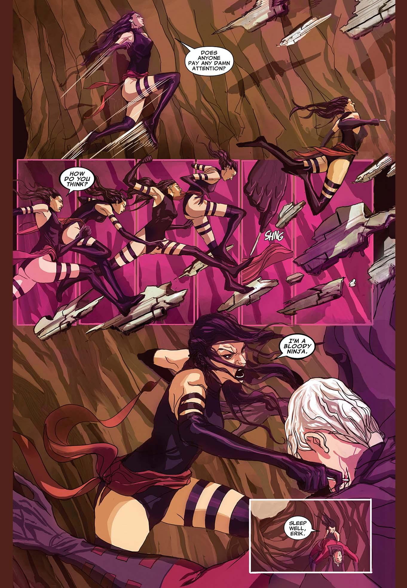 Betsy Braddock: Psylocke Appreciation 2018 - Page 5
