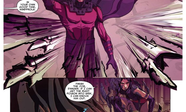 psylocke takes out magneto