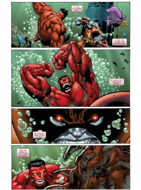 red hulk makes juggerlossus angry 2