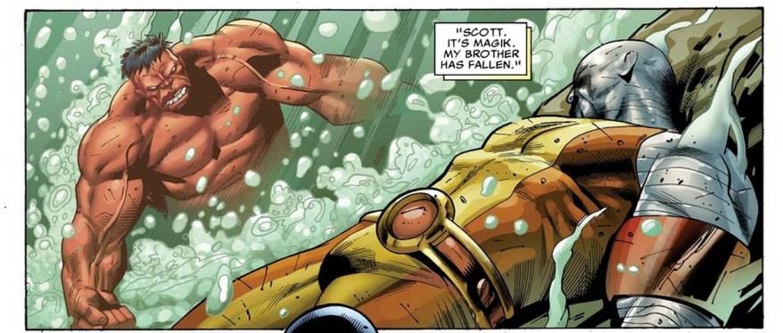 red hulk vs juggerlossus 5