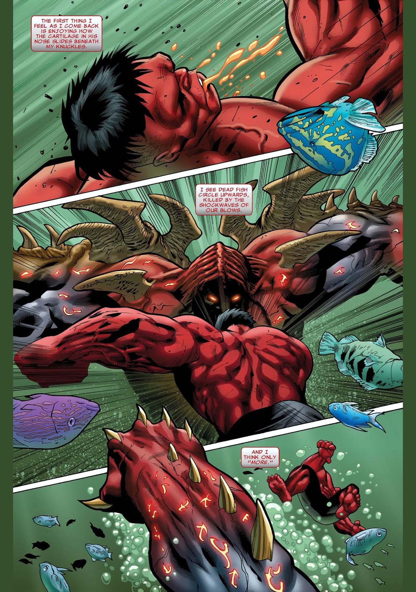 Red hulk vs juggerlossus comicnewbies - Pictures of red hulk ...
