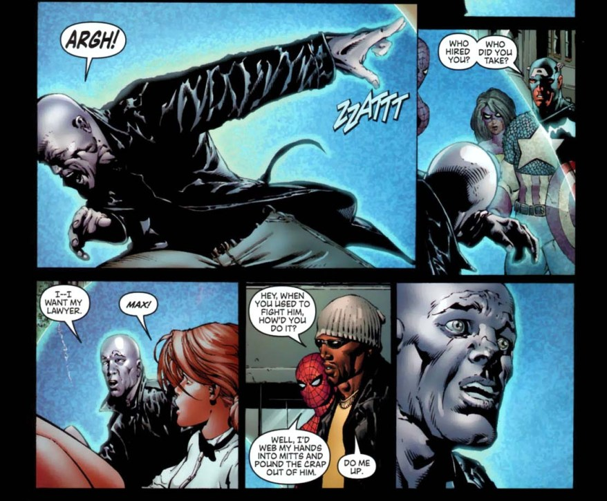 what luke cage did to electro