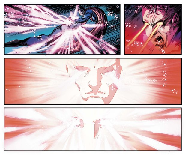 captain atom takes out superman and wonder woman 3