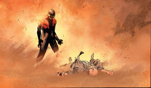 cyclops kills professor x