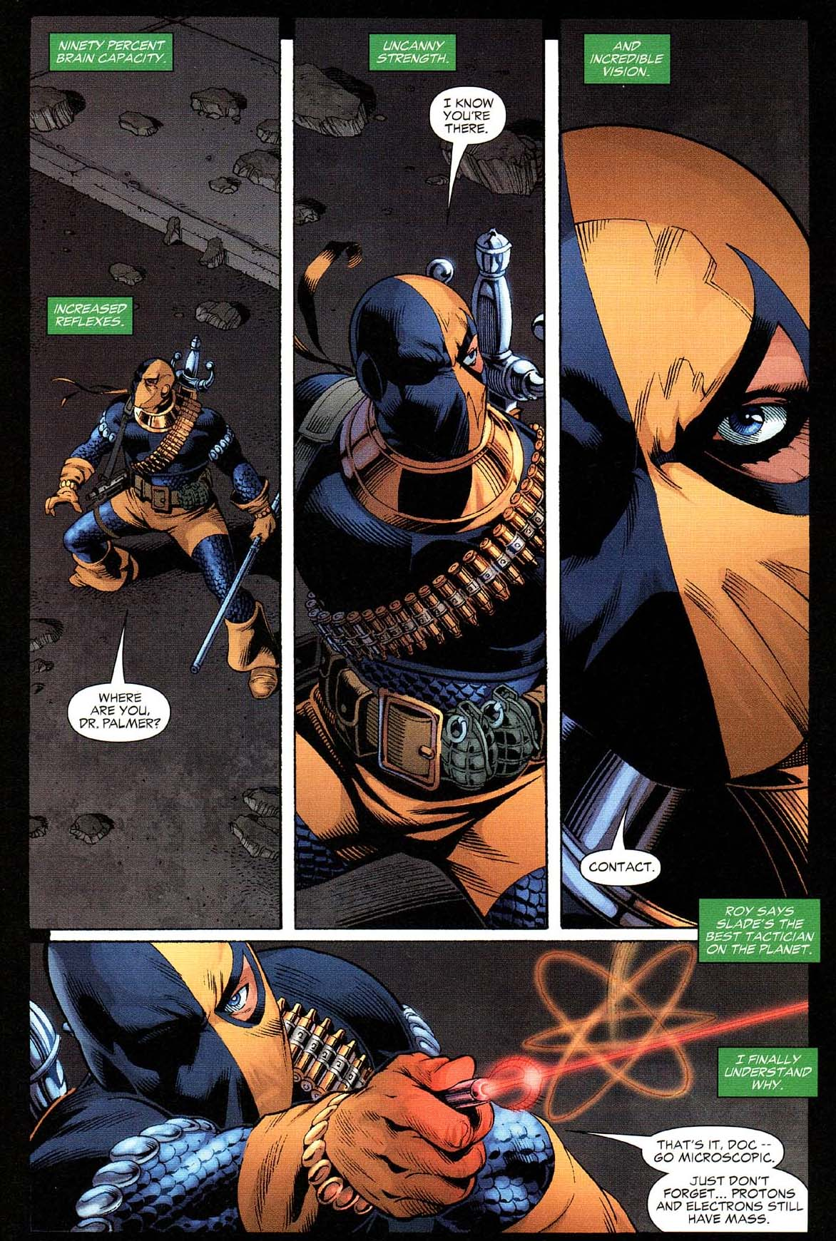 Deathstroke Takes Down Hawkman And The Atom | Comicnewbies | 1172 x 1740 jpeg 351kB