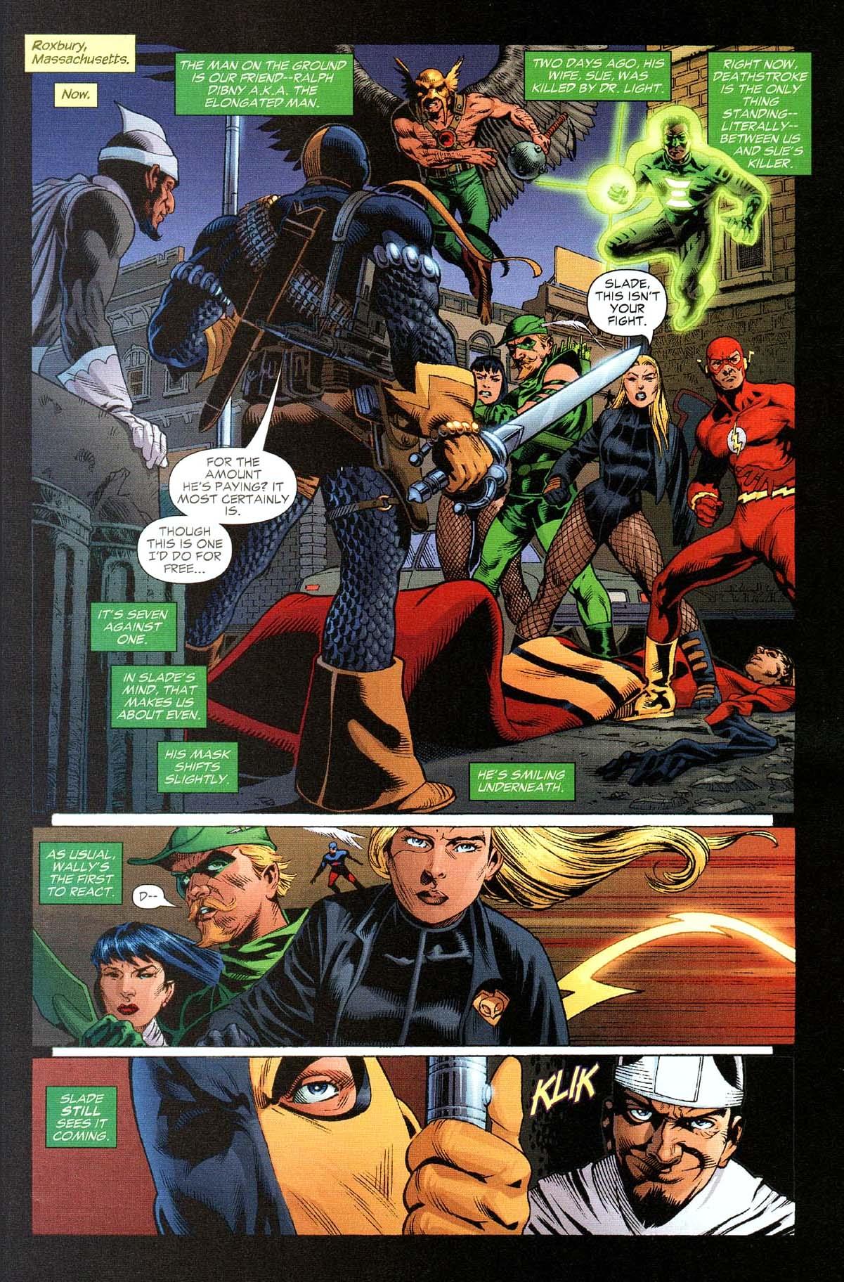Deathstroke Takes Down The Flash | Comicnewbies | 1201 x 1824 jpeg 412kB
