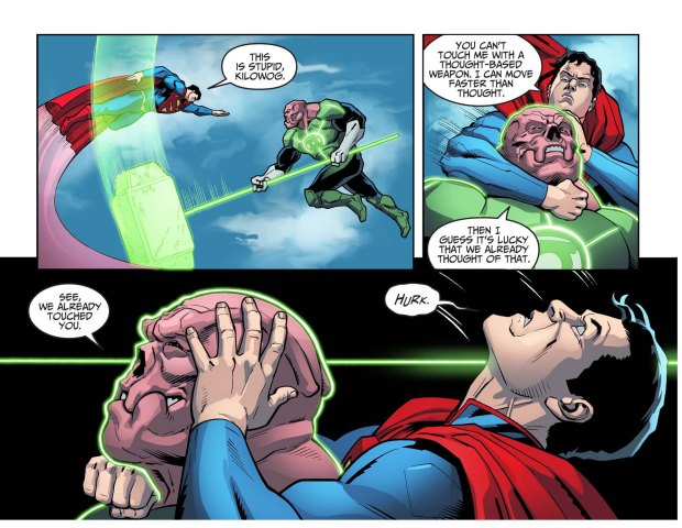 how a squirrel beat superman