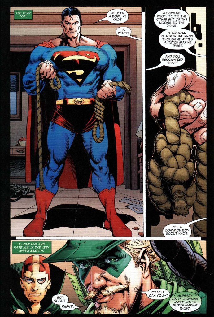 superman knows his knots