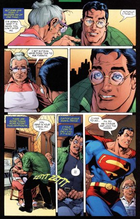 Superman's mom has a crush on green lantern 2