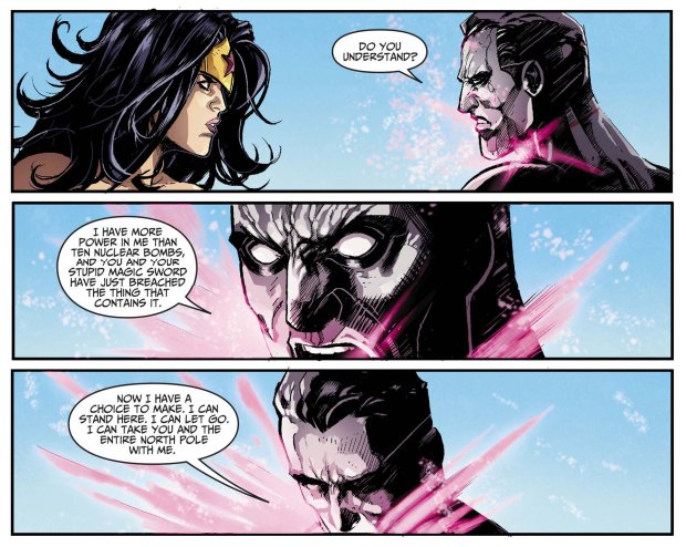 wonder woman kills captain atom 3