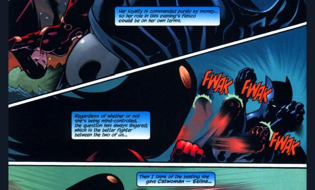 batman vs mind-controlled lady shiva 2