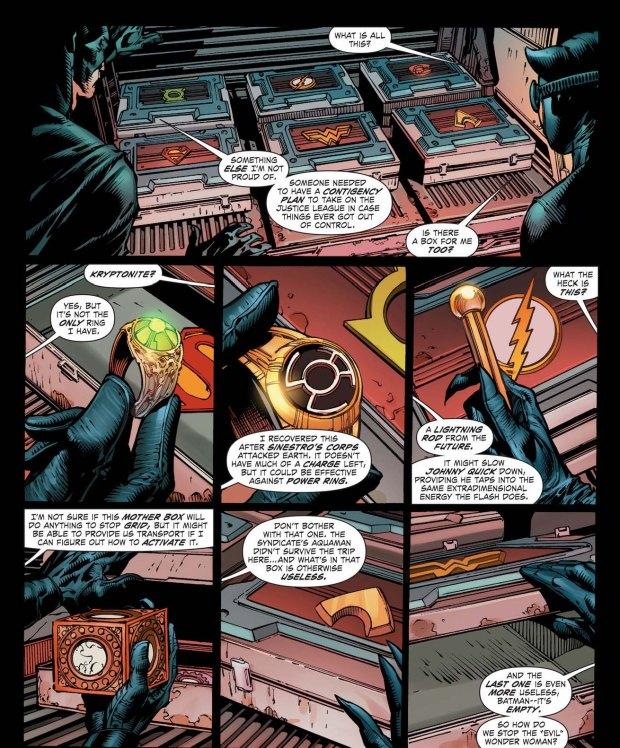 batman's contingency plan for the justice league