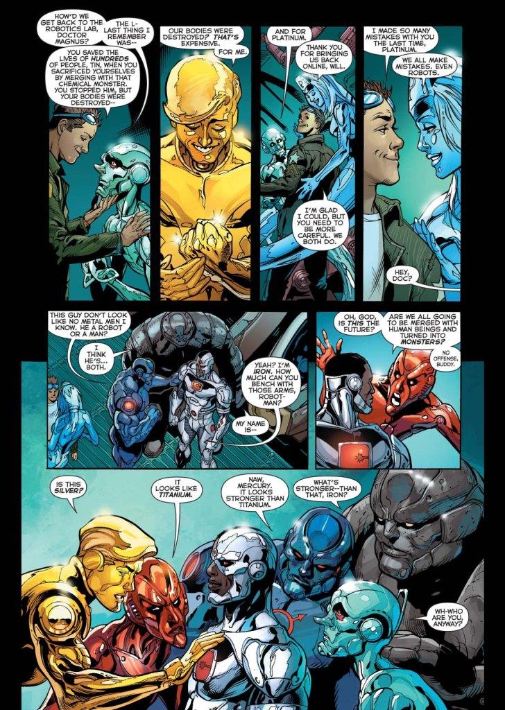 cyborg meets the metal men 2