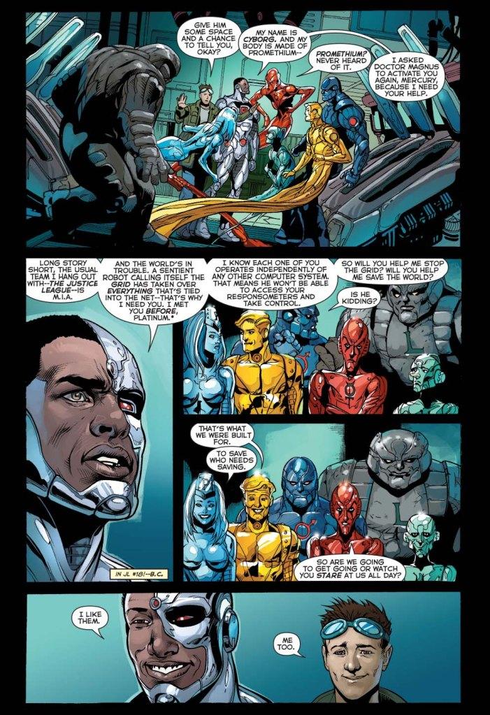 cyborg meets the metal men 3