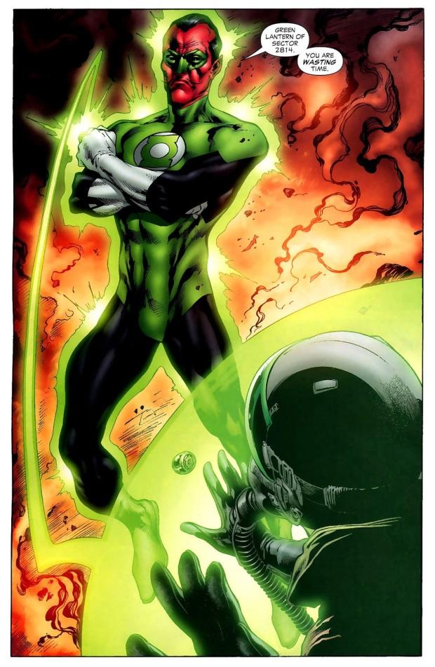Hal Jordan Meets Sinestro (Secret Origins)