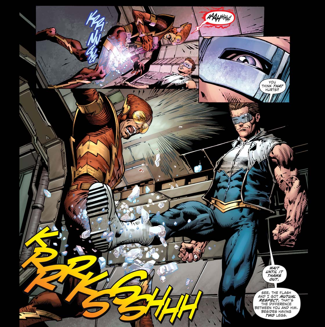 Batgirl Defeated Defeated johnny quick 2