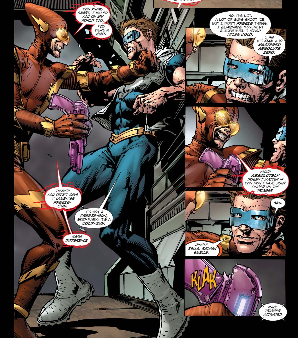 Batgirl Defeated How captain cold defeated