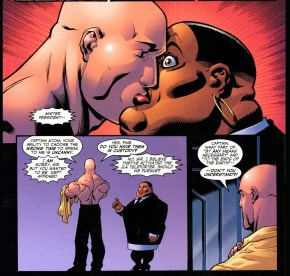 lex luthor kisses amanda waller