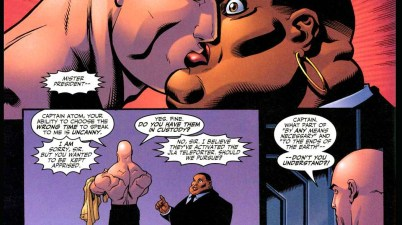 lex luthor kisses amanda waller