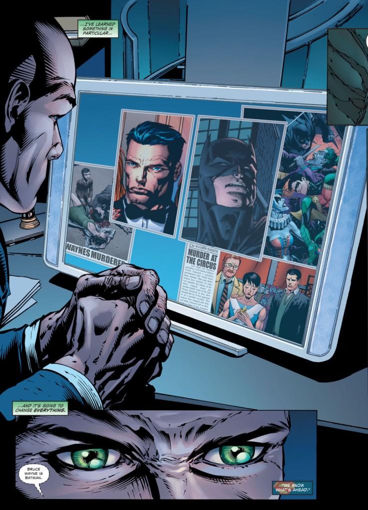 lex luthor learns batman's secret identity