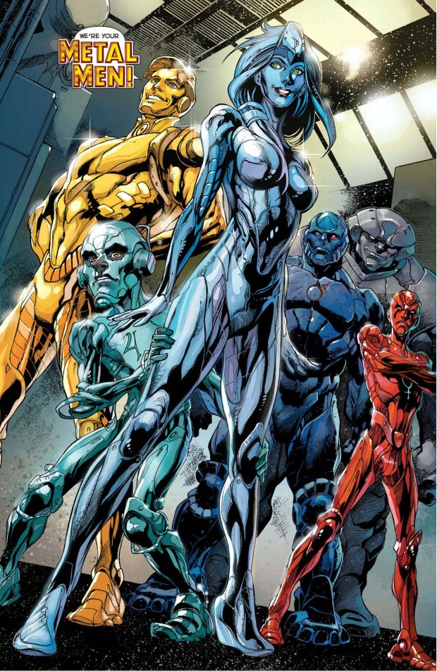 metal men (new 52)