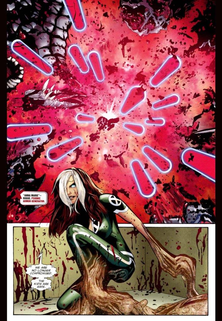 rogue takes down a predator x 3