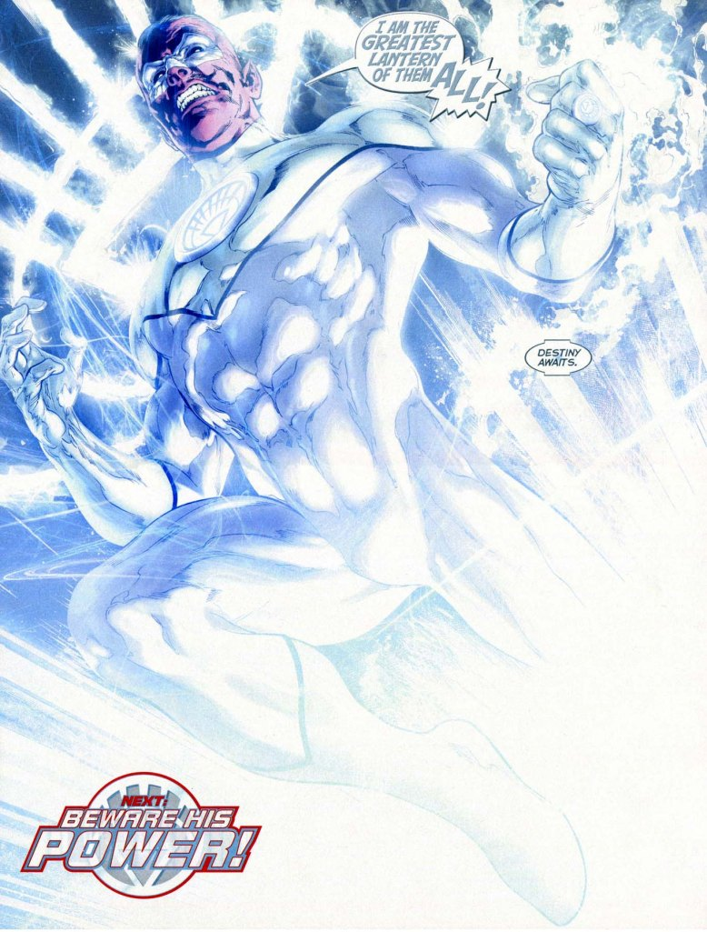 sinestro as a white lantern 2