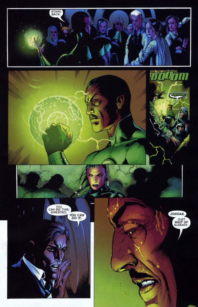 sinestro constructs 100 green lantern rings 2