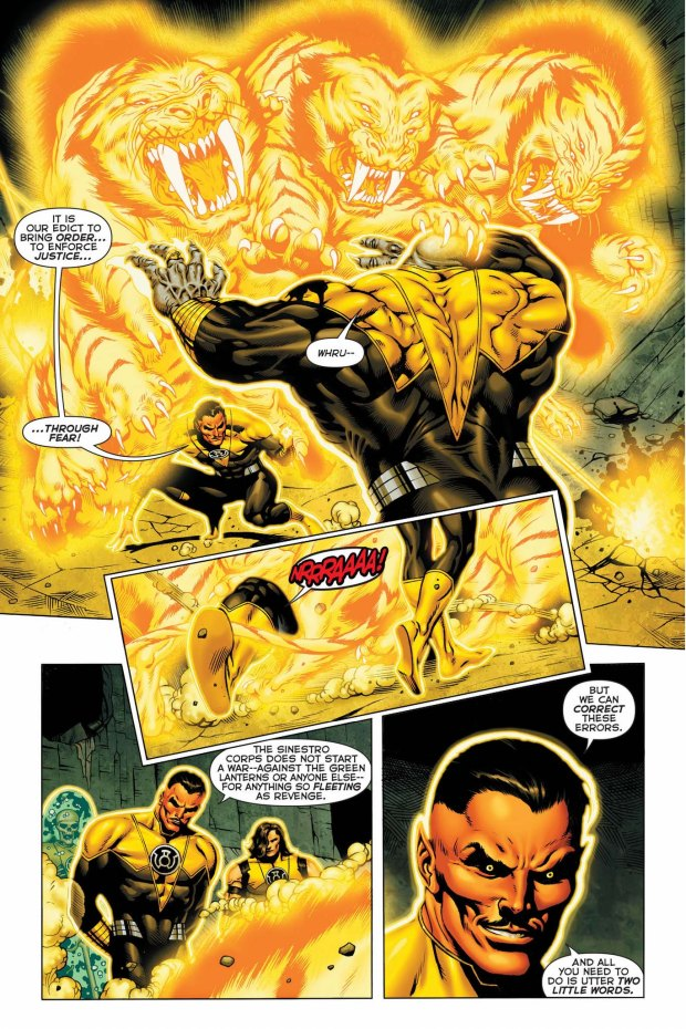 sinestro vs arkillo 2