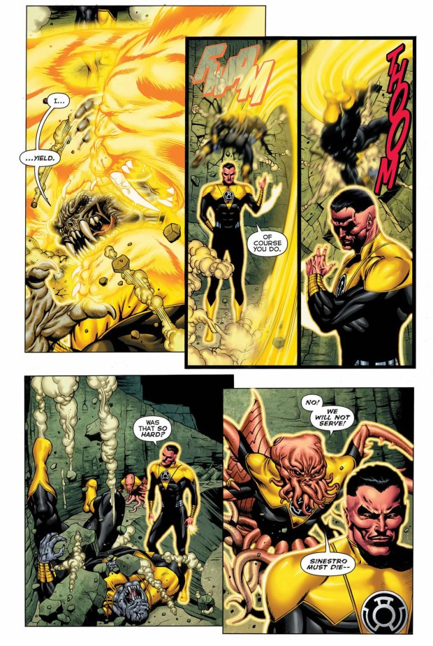 sinestro vs arkillo 3