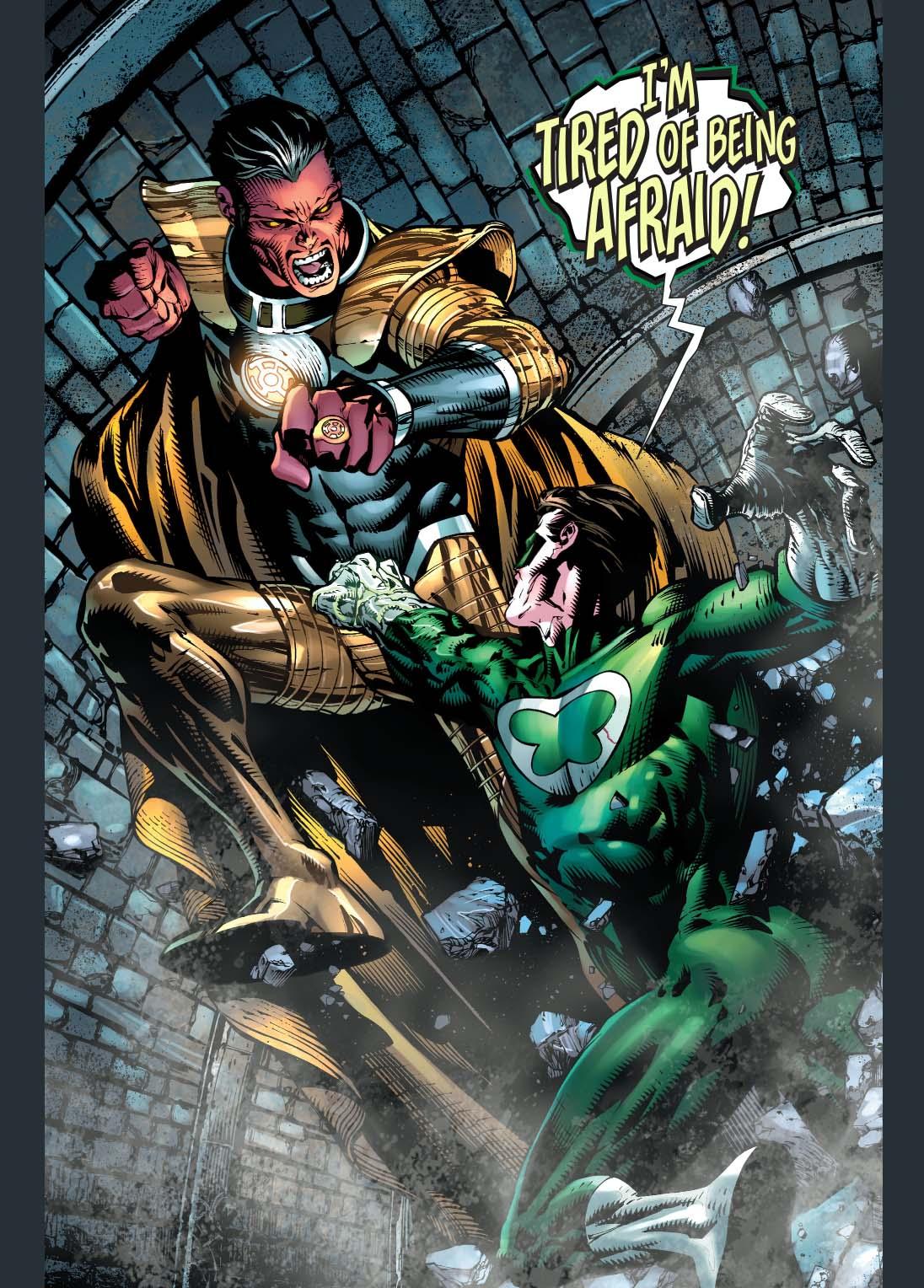 Daredevil Vs Deathstroke Sinestro VS Power Ring...