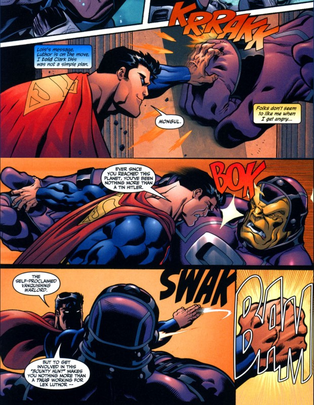 superman vs mind-controlled mongul 2