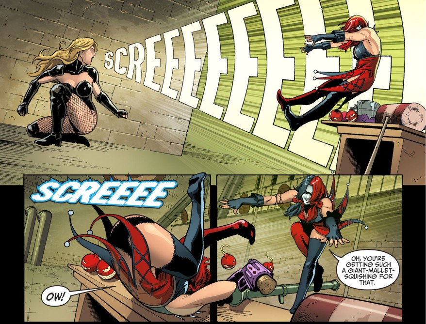 black canary vs harley quinn 3