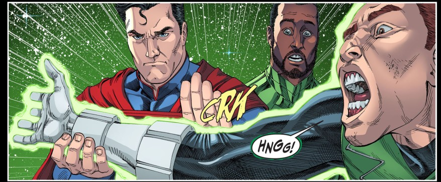 guy gardner parleys with superman 5