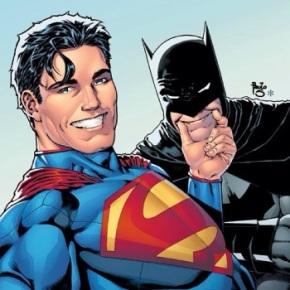 selfie variant cover batman superman