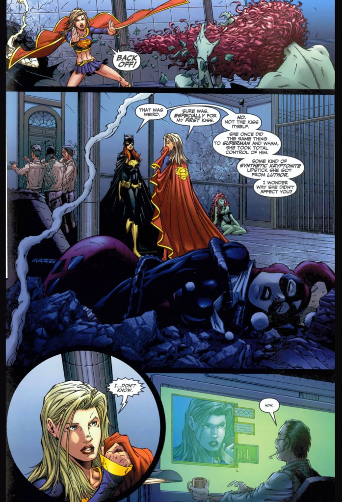 supergirl and batgirl vs harley quinn and poison ivy 4