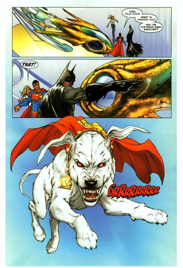 Supergirl Is Afraid Of Krypto Comicnewbies