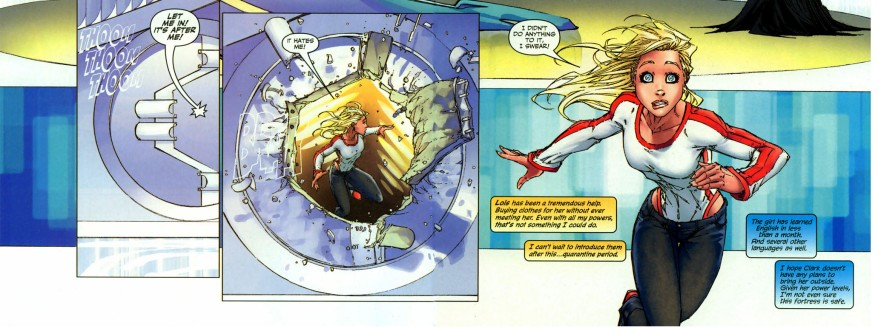 supergirl is afraid of krypto