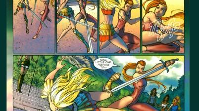 supergirl vs artemis 2