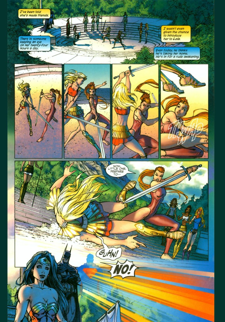 supergirl vs artemis 2