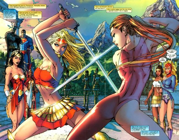 supergirl vs artemis
