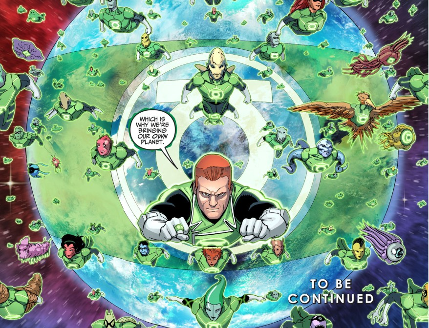 the green lantern corps bring their secret weapon 3