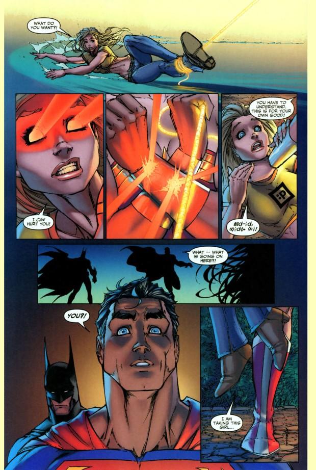 wonder woman kidnaps supergirl 2